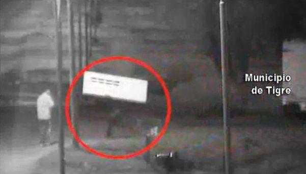 Robó y fue atrapado gracias a las cámaras de seguridad