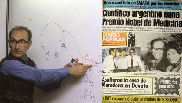 A 32 años del último Premio Nobel argentino