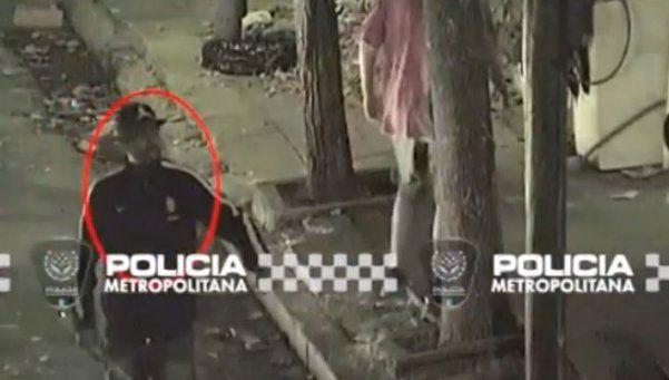Video   Así fue la detención del motochorro Gastón Aguirre