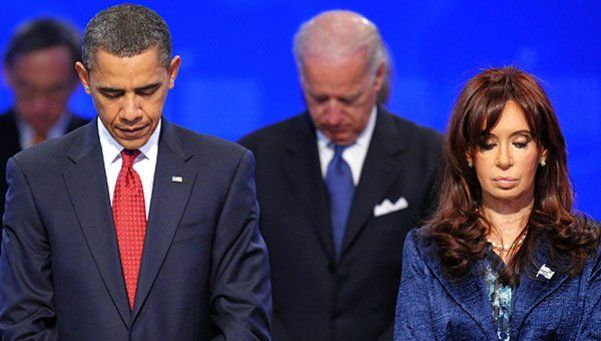 Cristina le reprochó a Obama designar a lobbista que actuó contra Argentina