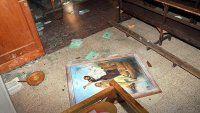 Atacaron y destrozaron una iglesia en Olavarría