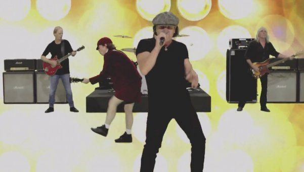 AC/DC suspende gira porque Brian Johnson puede quedarse sordo