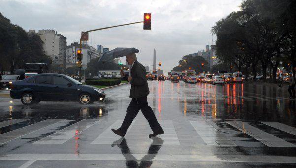 El Año Nuevo empezó con lluvia: ¿cómo será el clima en el fin de semana?