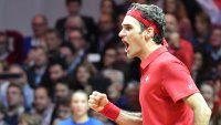 Federer venció a Gasquet y Suiza logró su primera Copa Davis