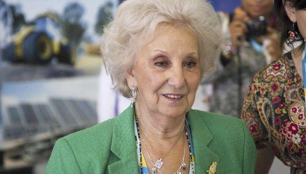 Estela de Carlotto no quiere que Obama vaya a la ex ESMA