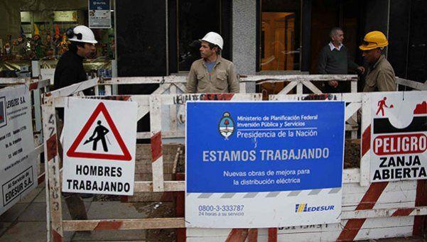 Trabajadores de EDESUR paran hoy en reclamo por despidos