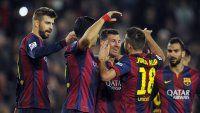 Barcelona despidió el año con una goleada