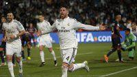 Real Madrid aprovechó una pelota parada y tiene ventaja