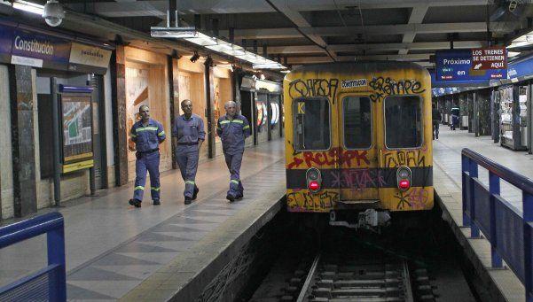 La Línea C de subterráneos, cerrada hasta el lunes