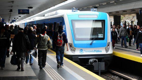 Hombre armado causó pánico en el tren Sarmiento