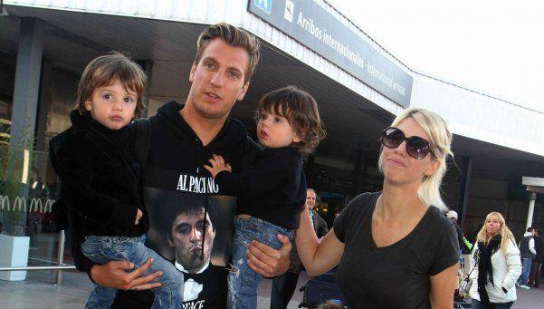 Wanda denuncia a Maxi López por violencia contra sus hijos