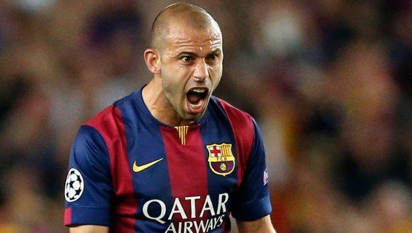 Mascherano seguirá en Barcelona, confirmó el director deportivo