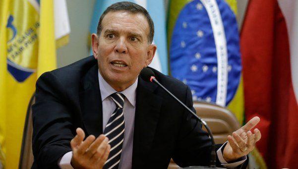 El ex presidente de la Conmebol quedará libre bajo fianza