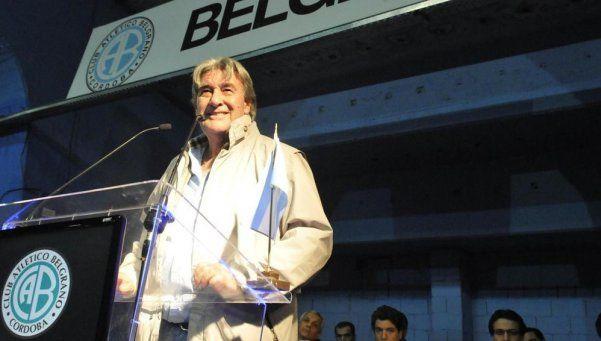 Presidente de Belgrano: Voy a ser candidato en la AFA