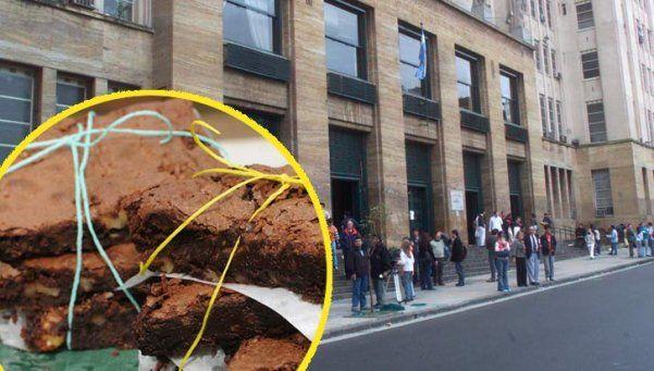 Piden juicio oral para joven por convidar una torta con marihuana