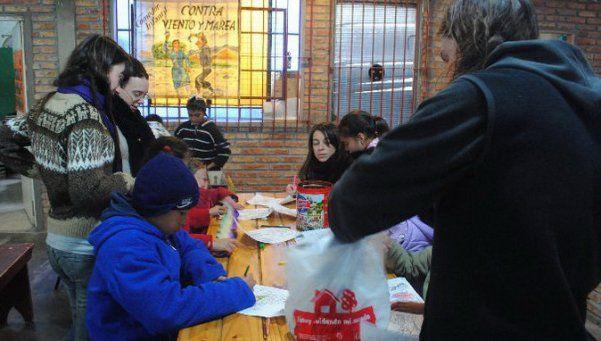 Contra Viento y Marea, un comedor que extiende sus brazos solidarios