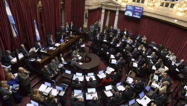 El Senado trata el acuerdo con los holdouts
