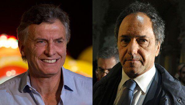Qué se dice de Daniel Scioli y Mauricio Macri en redes sociales