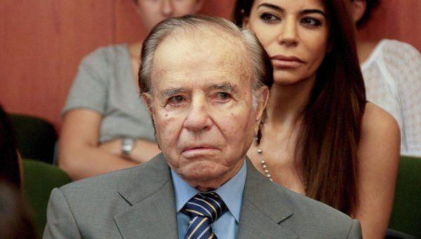 Menem involucró a Hezbolá por la muerte de su hijo