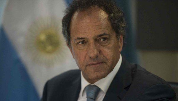 Scioli prometió llevar el piso de Ganancias a 25 mil pesos