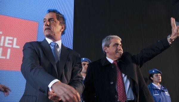 Scioli esquivó una polémica con Aníbal Fernández