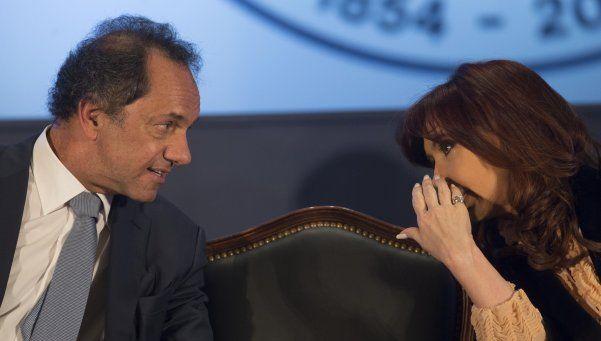 En Olivos, Cristina analizó la derrota junto a Scioli y Zannini