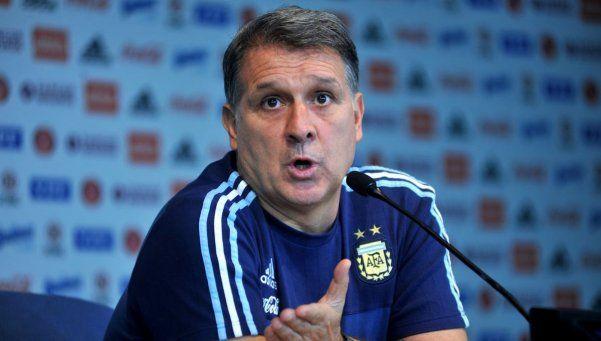 Martino: Si le ganamos a Bolivia, podemos ir tranquilos a la Copa América