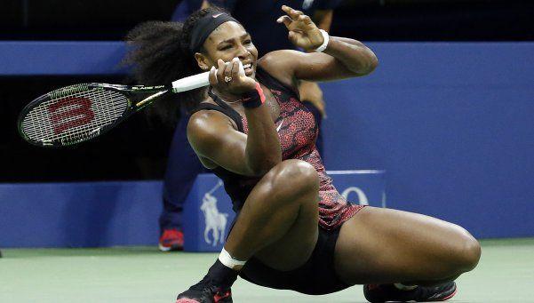Serena Williams comió alimento de perro y finalizó descompuesta