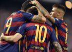 Barcelona, con Messi de entrada, quiere escaparse en la punta