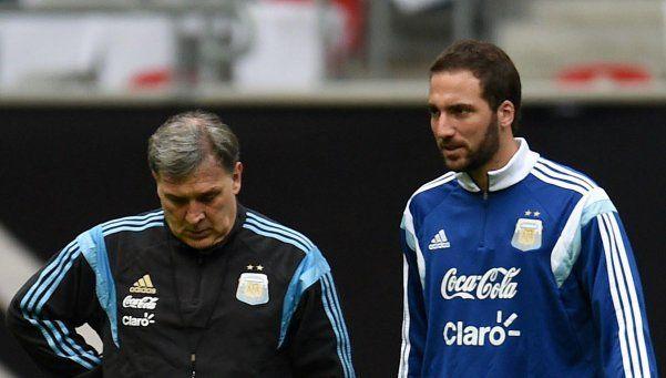 Para Brasil y Colombia, ni Messi ni Agüero: Higuaín