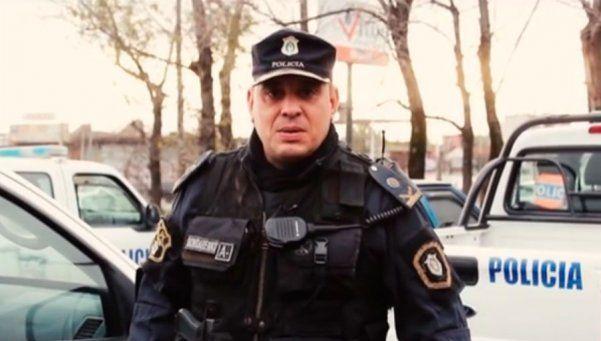 """""""Tienen un amigo"""", el mensaje del policía homenajeado en La Matanza"""