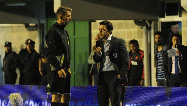 Gallardo: Apuntamos al partido del miércoles por la Sudamericana