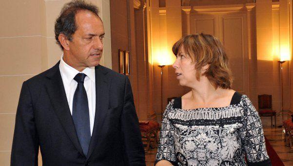 Scioli confirmó a Batakis en Economía si asume como presidente