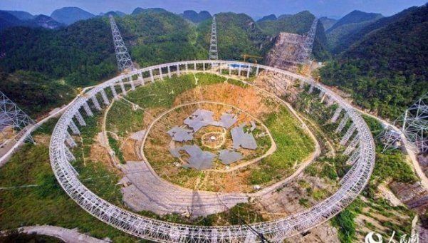 China construye un telescopio para encontrar vida extraterrestre