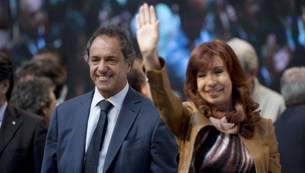 """""""Scioli va a continuar con esta gran obra que hemos comenzado"""""""