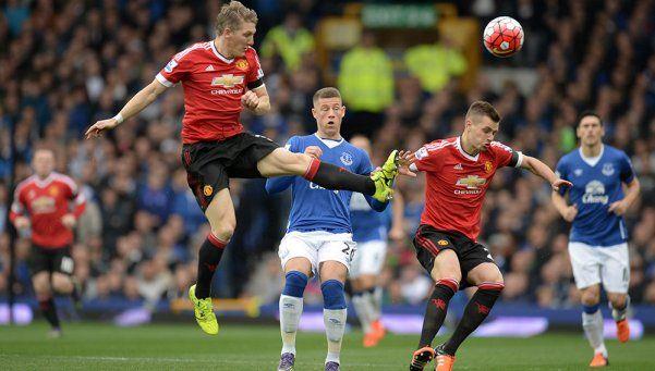 Premier League: el United goleó en su visita al Everton
