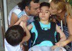 La lucha de una  familia para que su hijo esté mejor