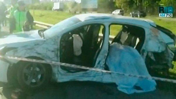 Luján: escapaba de la Policía en contramano y mató a una mujer