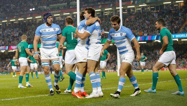 Histórico: Los Pumas vapulearon a Irlanda y pasaron a semis