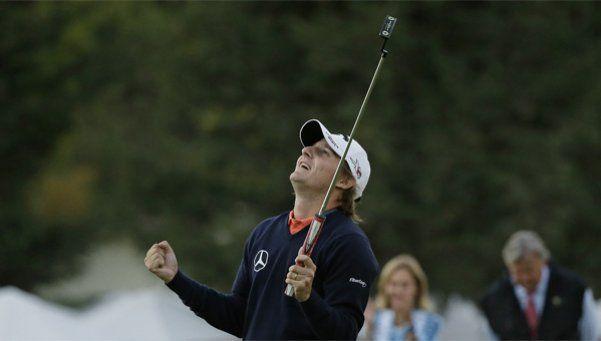Primer torneo y título para Emliano Grillo en el PGA
