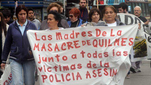 Se conoce hoy el veredicto por la Masacre de Quilmes