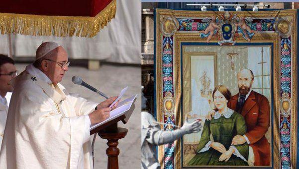 Histórica proclamación de una pareja como santos