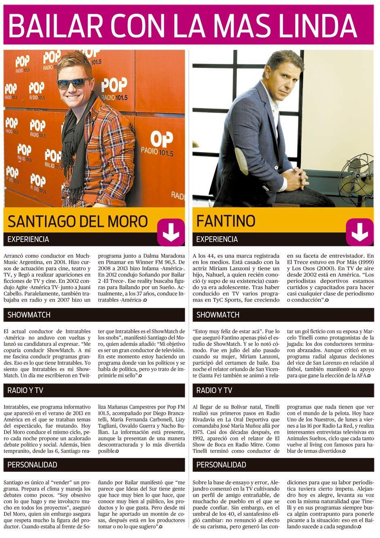 Frente a frente: Santiago del Moro y Alejandro Fantino