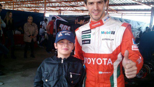 Ayrton Chorne pide pista en el mundo del karting