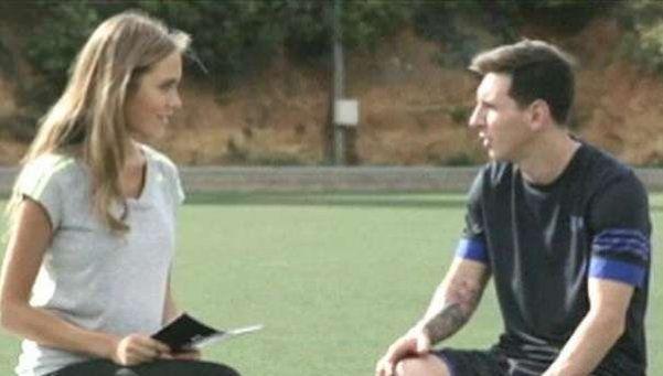 Messi y un divertido ping pong con preguntas de sus fans