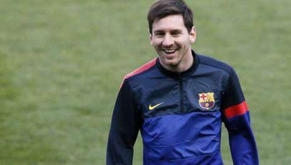 Messi pidió unidad, paz y fraternidad