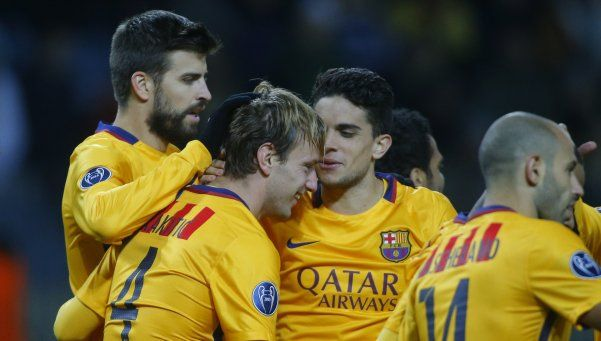 Champions League: victorias de Barcelona y Arsenal