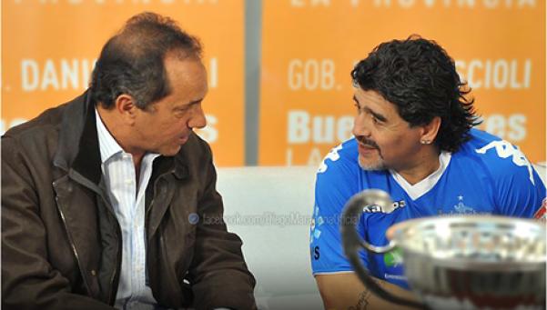 Carta de Diego: Voto por Scioli, el que nos va a cuidar y defender mejor