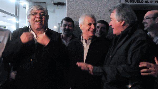 Las dos CGT dieron el primer paso para la reunificación