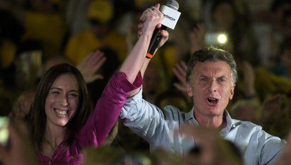 Macri cerró su campaña bonaerense con Vidal